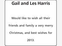 Gail and Les Harris photo