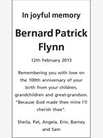 Bernard Patrick Flynn photo