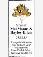 Stuart MacManus & Hayley Kliem photo