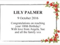LILY PALMER photo