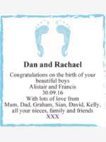 Dan and Rachael photo