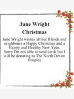 June Wright photo