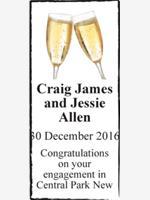 Craig James and Jessie Allen photo