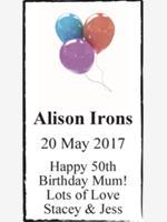 Alison Irons photo