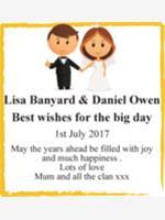 Lisa Banyard & Daniel Owen photo