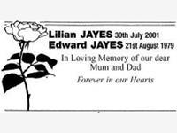 Lilian JAYES and Edward JAYES photo