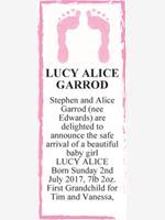 LUCY ALICE GARROD photo