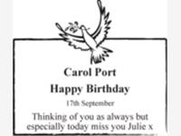 Carol Port photo