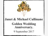 Janet & Michael Cullinane photo
