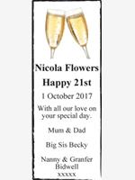 Nicola Flowers photo