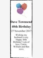 Dave Townsend photo