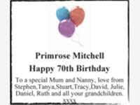 Primrose Mitchell photo