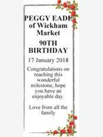 PEGGY EADE of Wickham Market photo