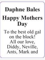 Daphne Bales photo