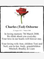 Charles (Ted) Osborne photo