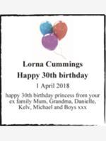 Lorna Cummings photo