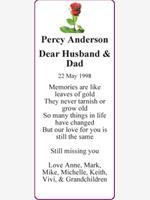 Percy Anderson photo