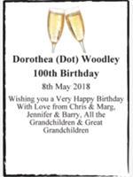 Dorothea (Dot) Woodley photo