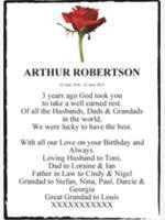 ARTHUR ROBERTSON photo