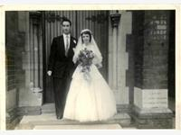 Brian And Margaret  PEGG photo
