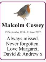 Malcolm Cossey photo