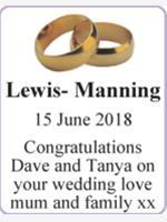 Lewis- Manning photo