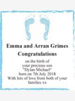 Emma and Arran Grimes photo