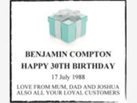 BENJAMIN COMPTON photo