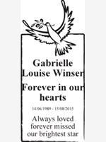 Gabrielle Louise Winser photo