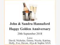 John & Sandra Hannaford photo