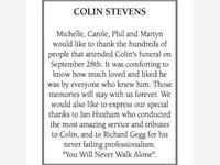 COLIN STEVENS photo
