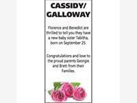 Cassidy/Galloway photo