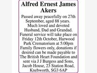 Alfred Ernest James Akers photo