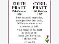 Edith and Cyril Pratt photo