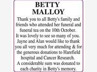 Betty Malloy photo