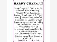 HARRY CHAPMAN photo