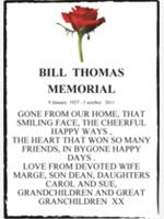 BILL  THOMAS photo