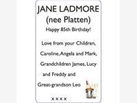 JANE LADMORE (nee Platten) photo
