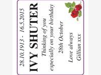 Ivy Shuter photo