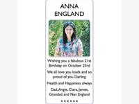 ANNA ENGLAND photo