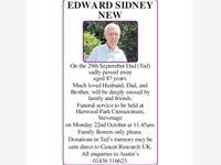 Edward Sidney New photo