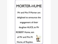 MORTER-HUME photo