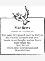 Mac Reeve photo