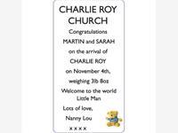 CHARLIE ROY CHURCH photo