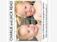 CHARLIE and JACK READ photo