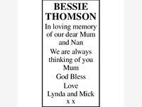 BESSIE THOMSON photo
