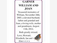 WILLIAM and JOAN GARNER photo