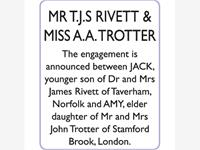 JACK RIVETT & AMY TROTTER photo