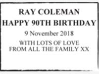 RAY COLEMAN photo
