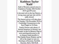 Kathleen Taylor photo